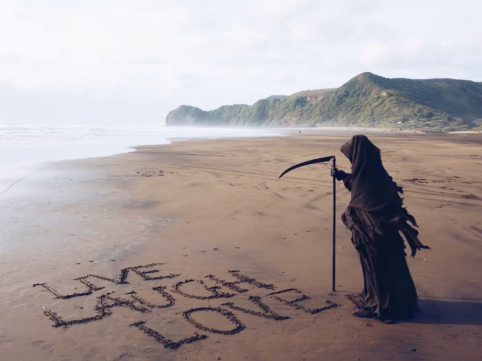 Water Safety NZ 'The Swim Reaper' social campaign