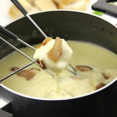 Fondue Savoyarde et desserts