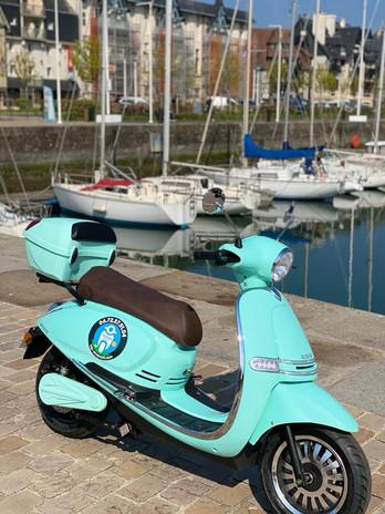 Tap Ecoscoot location scooter électrique Deauville