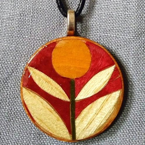 Woodflower pendant