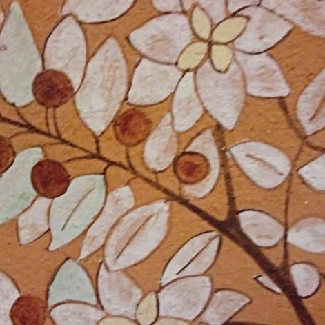 Apple tree decorative tile