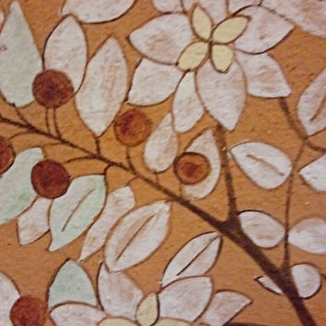 Apple tree decorative tile