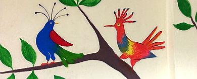 bird_branch_ mural