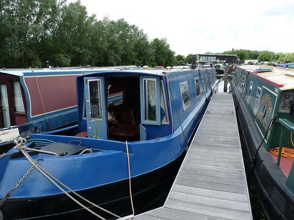 Narrowboat Dindi