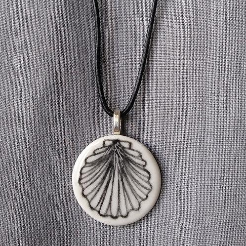 Pilgrim's scallop pendant