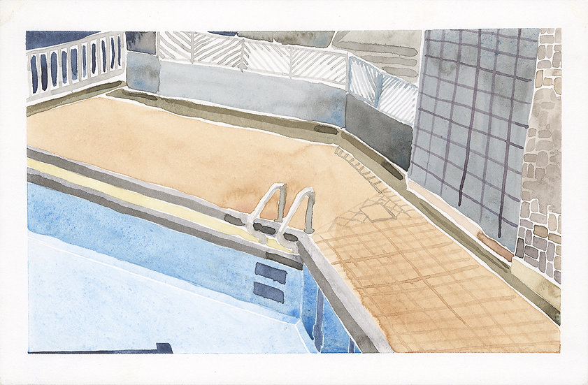 No One in the Pool 無人在泳池