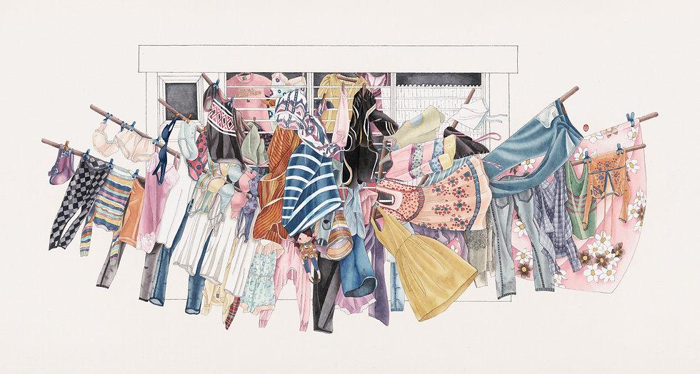 Open Wardrobe 公開的衣櫃