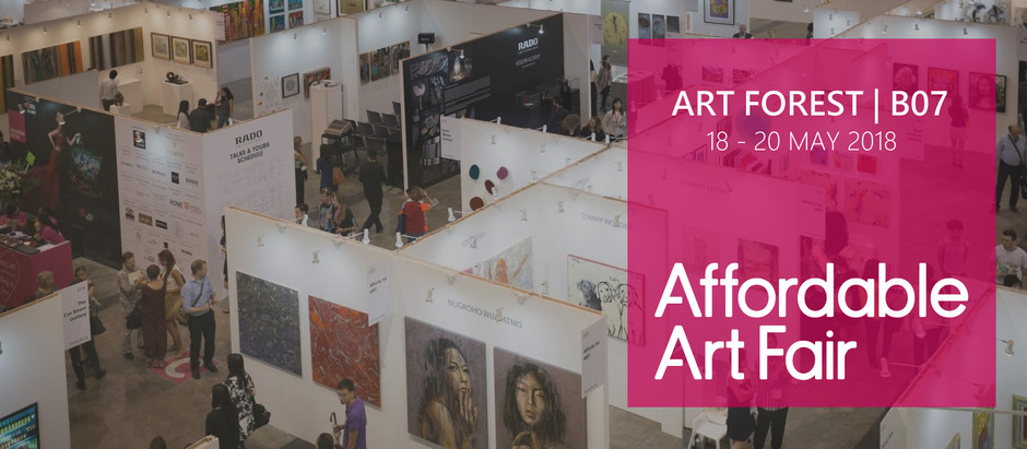 B07 | Affordable Art Fair 17 - 20 May 2018