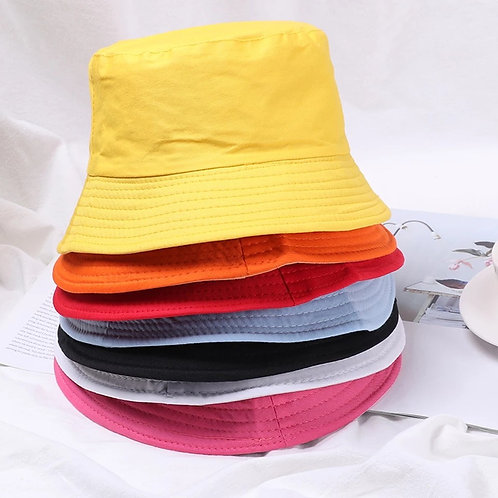 12 Bucket Hats Colors
