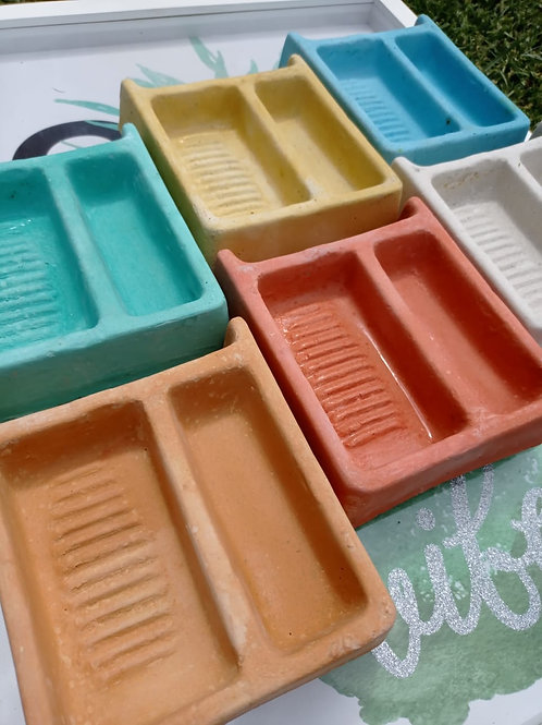 10 mini lavaderitos limpia Brochas