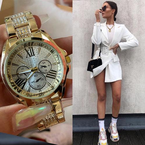 Reloj Curie Dorado