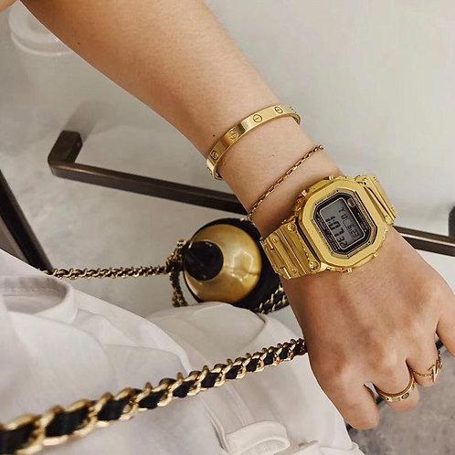 Reloj  kinqué Dorado
