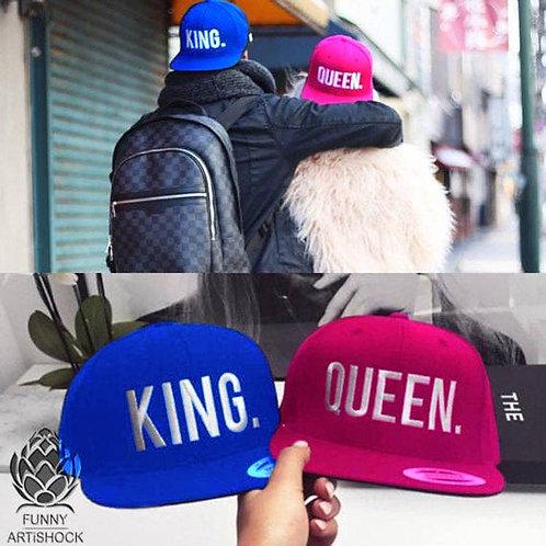 Dúo Gorra Queen-King