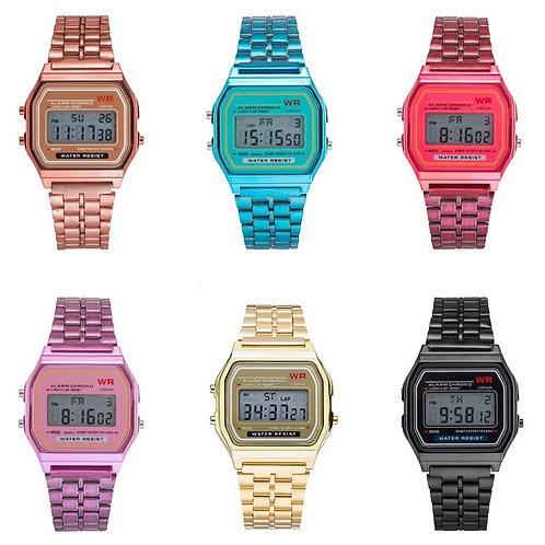 Reloj Metálico  Colores Surtidos