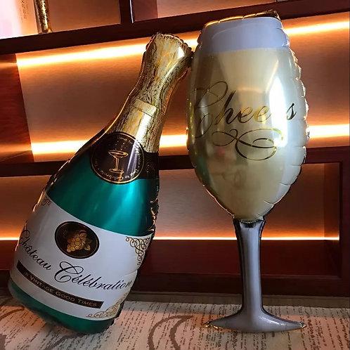 4 Globos Copa Cheers