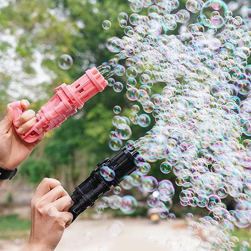 Pistola de Burbujas