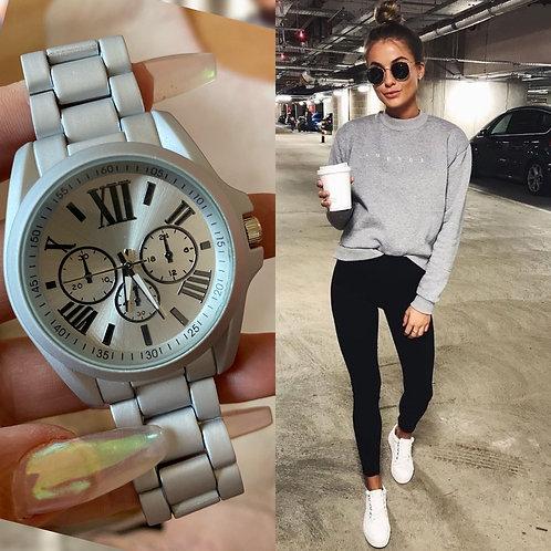 Reloj Curie Plata