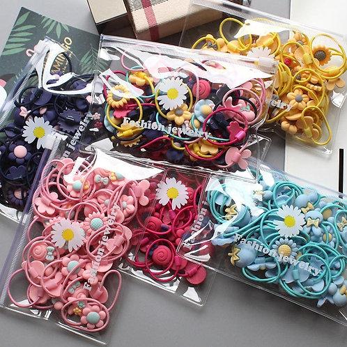 Bolsa Set Ligas Flores 🌺