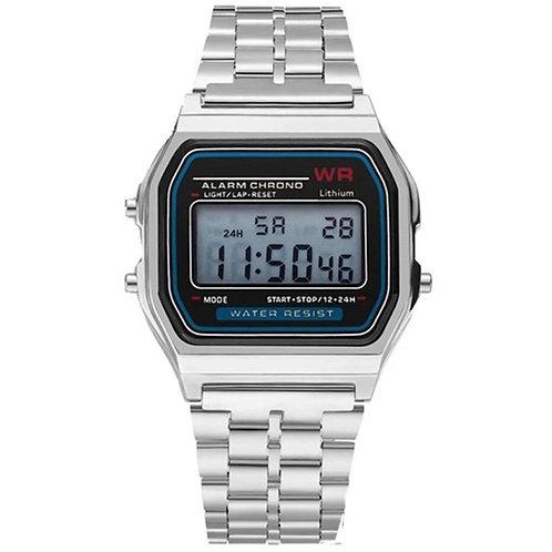 Reloj colors Plata