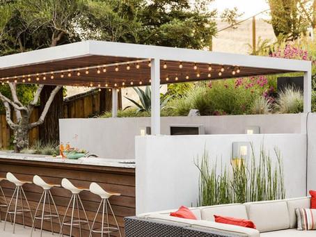 Ideias para Seu Projeto de Área Gourmet Integrada ao Jardim
