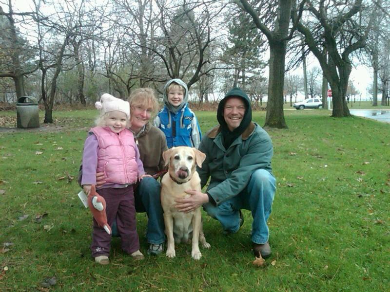 Rhiann's new family - 11-29-2009