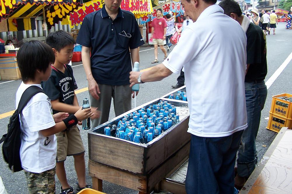 ramune street vendors