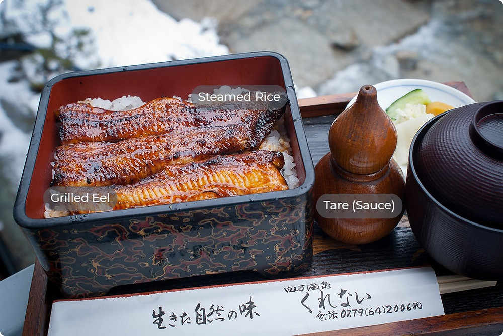 Japanese eel bowl