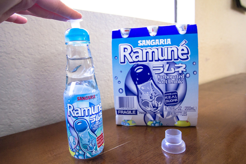 pop the ramune bottle