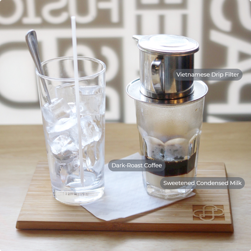 Vietnamese Coffee during the summer
