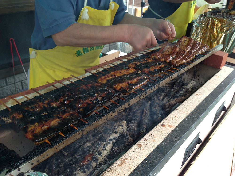 grilled freshwater eel