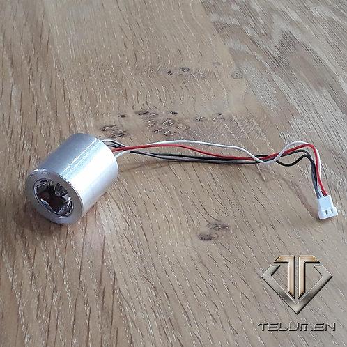 Pack diode 9 watts RGB à variation avec connecteur