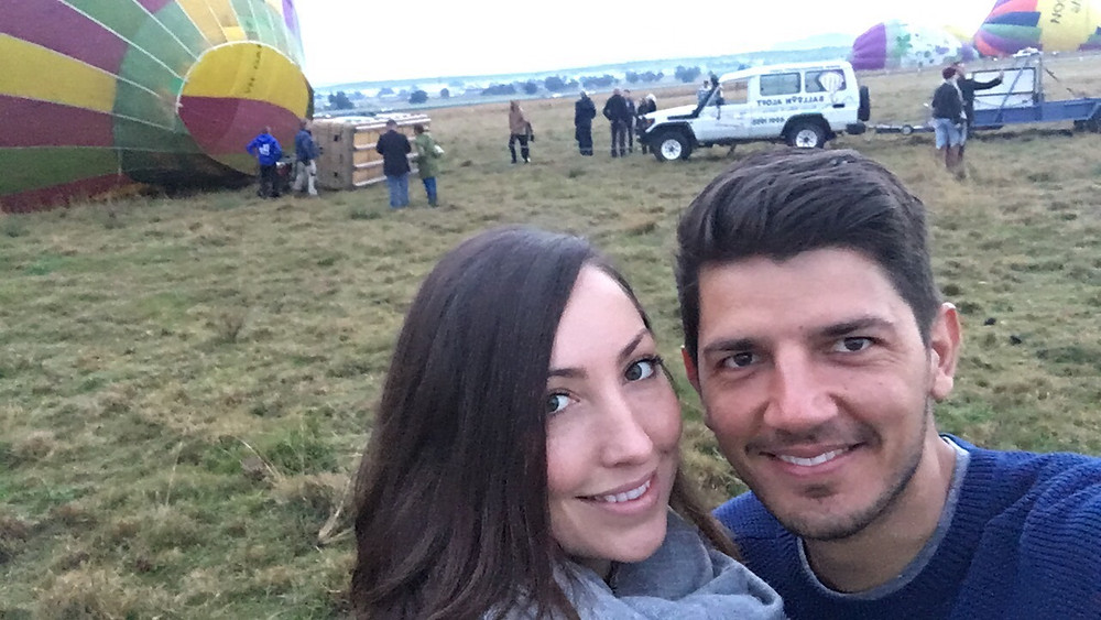 Doing cool adventures like hot air ballooning.