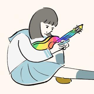 現実逃避するギター少女