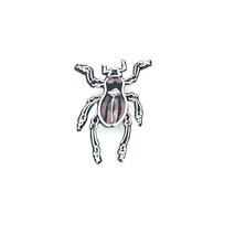 カタゾウムシ(縞ピンク)