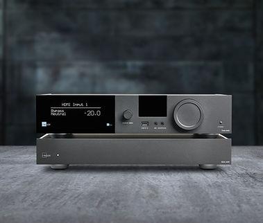 Lyngdorf TDAI-3400+SDA-2400 front studio