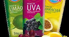 Picolés de fruta Art Fruit