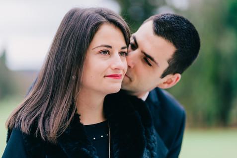 Séance d'engagement de Clément et Sarah-