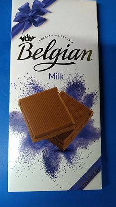 Belgian milk chocolate