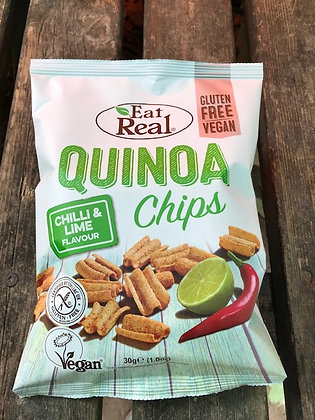 Eat Real - Quinoa Chips/Chilli and Lime