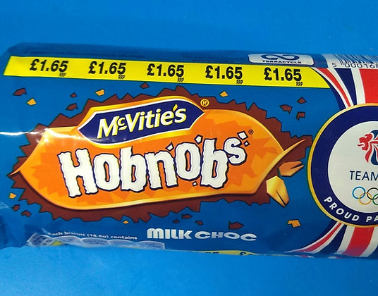 Milk chocolate hobnobs