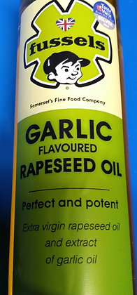 Fussels garlic flavoured rapeseed oil (250ml)