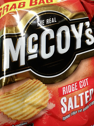 Crisps - McCoy's ridge cut salted (Grab bag large)