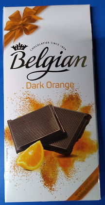 Belgian dark orange chocolate