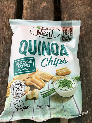 Eat Real - Quinoa Chips/ Sour Cream and Chives