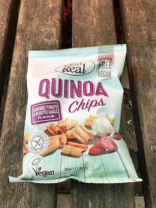 Eat Real - Quinoa Chips/Tomato and Garlic