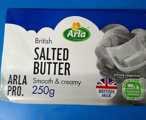 Arla salted butter