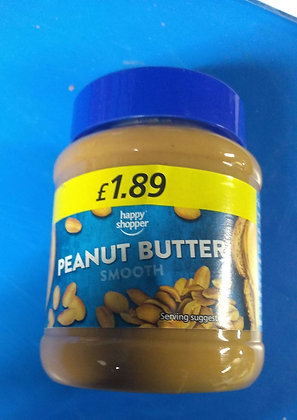 Peanut butter (smooth)