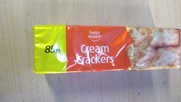 Cream crackers