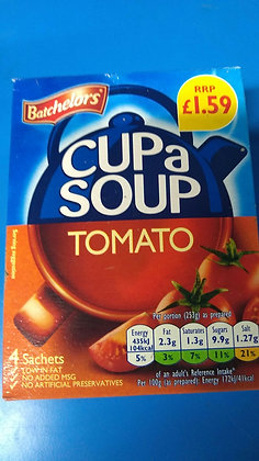 Cup a soup - tomato. (4 pack)