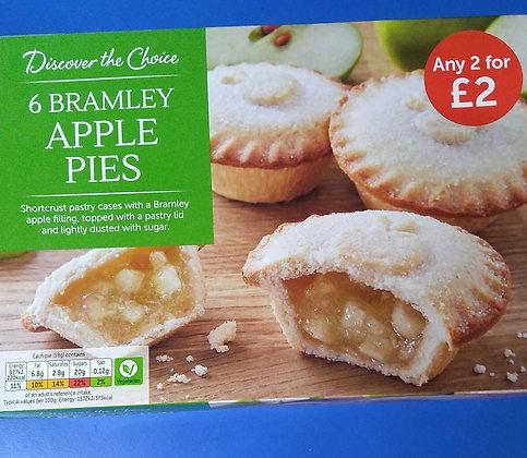Bramley apple pies (6)